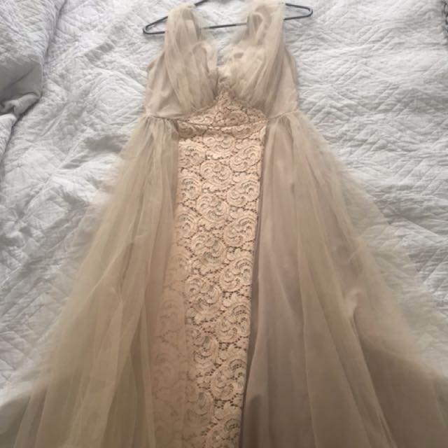 ASOS tule dress size 10