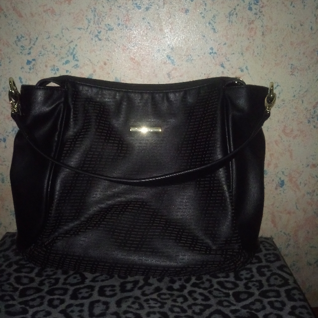 Authentic Girbaud Black shoulder bag