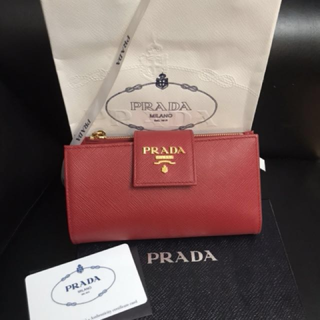 7d79b3e6d700 ... closeout authentic prada wallet original luxury bags wallets on  carousell 7f72c 698c8