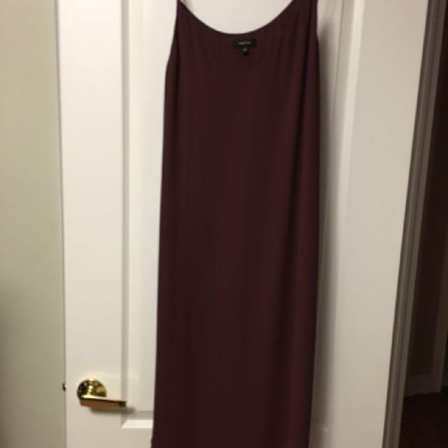 Babaton silk slip dress