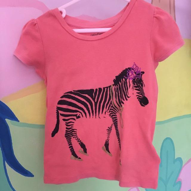 Baby GAP Zebra Tshirt