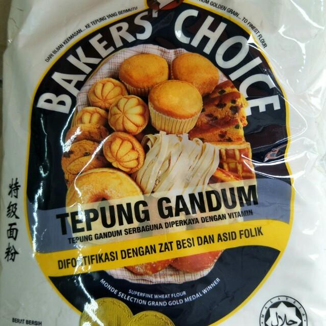 Baker Choice Flour Food Drinks Baked Goods On Carousell