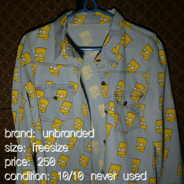 Bart simpsons polo longsleeves