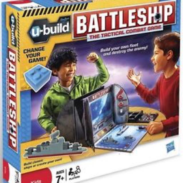 Battleship the tactical combat board game
