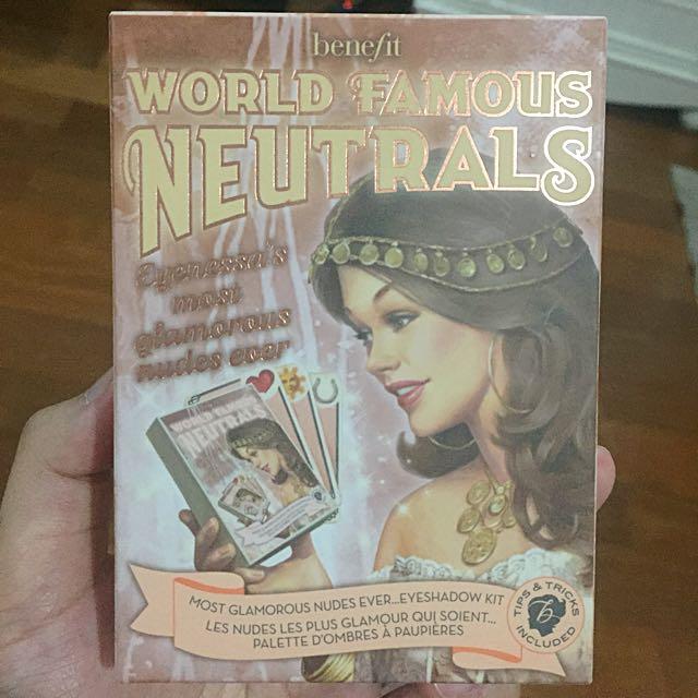 BENEFIT World Famous Neutrals Eye Shadow Kit
