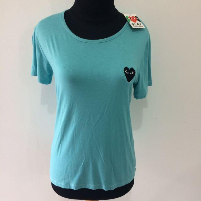 Blue CDG T-Shirts