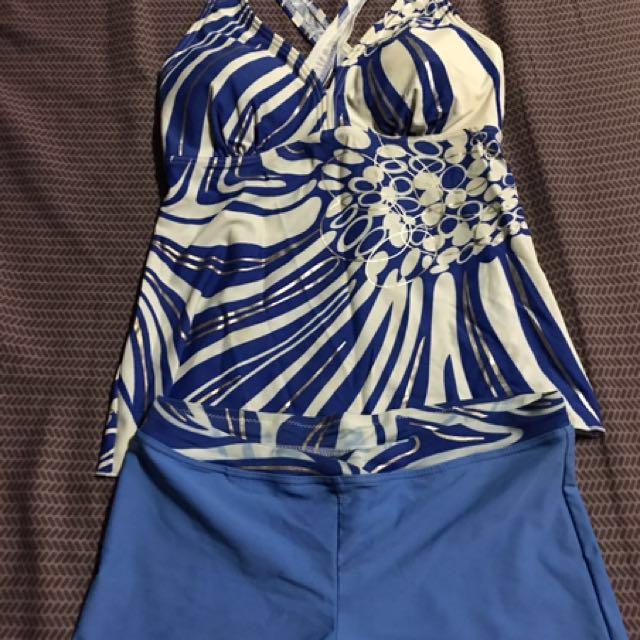 Blue Swimwear