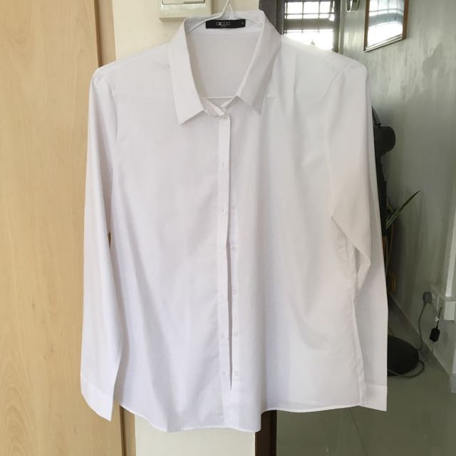BN G2000 women formal white shirt