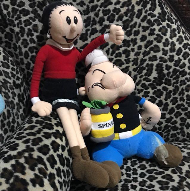 Boneka Popeye & Olive