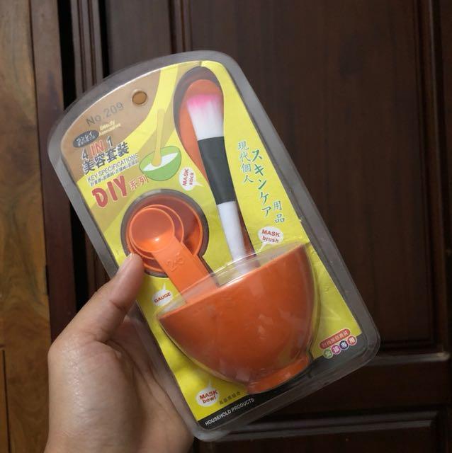 bowl masker satu set