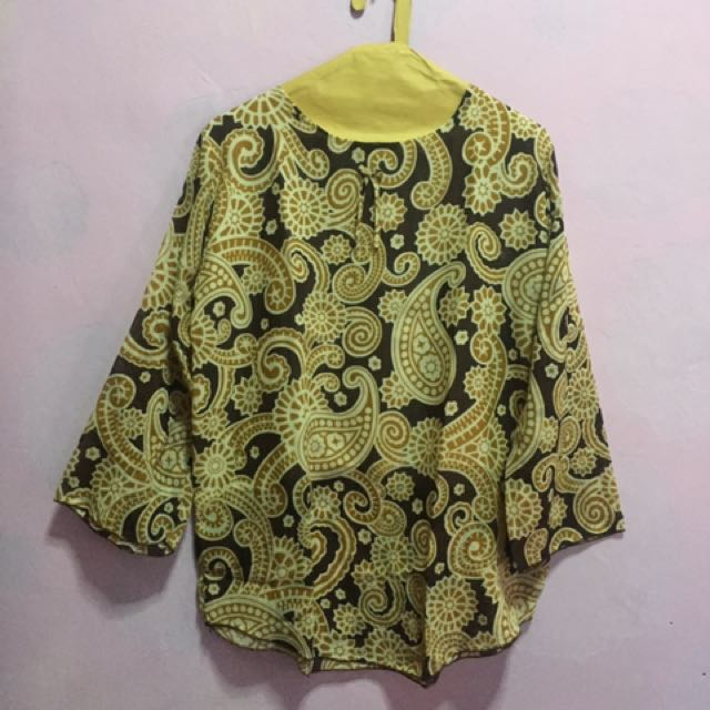 Brown Pattern Blouse