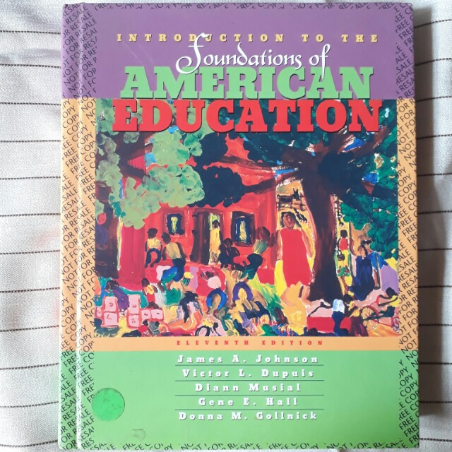 Buku Introduction to The Foundations of American Education