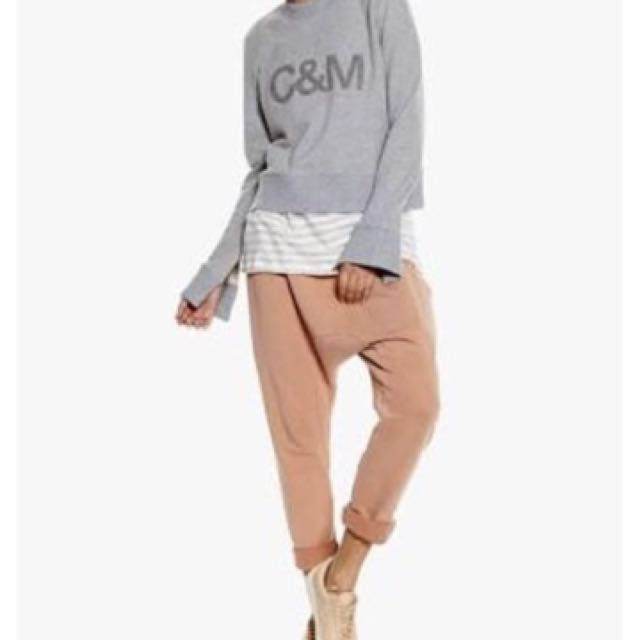 Camilla and Marc grey jumper size small RRP $159