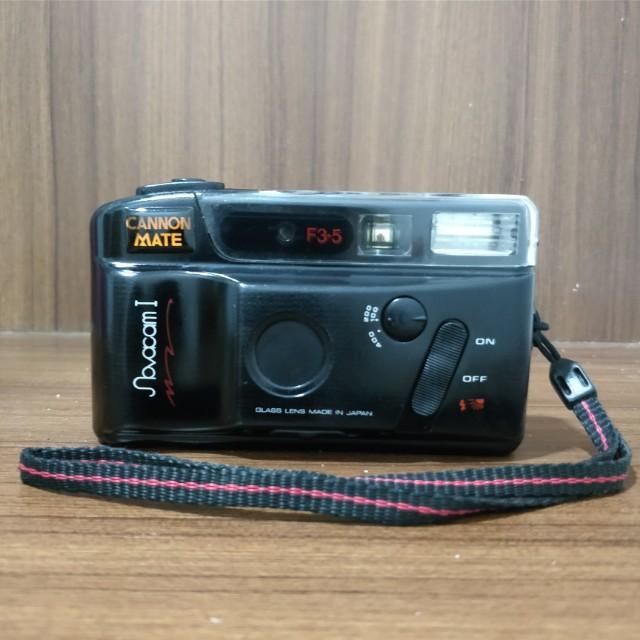 Canon Mate Novacam 1 Analog Camera - Kamera Film 35mm