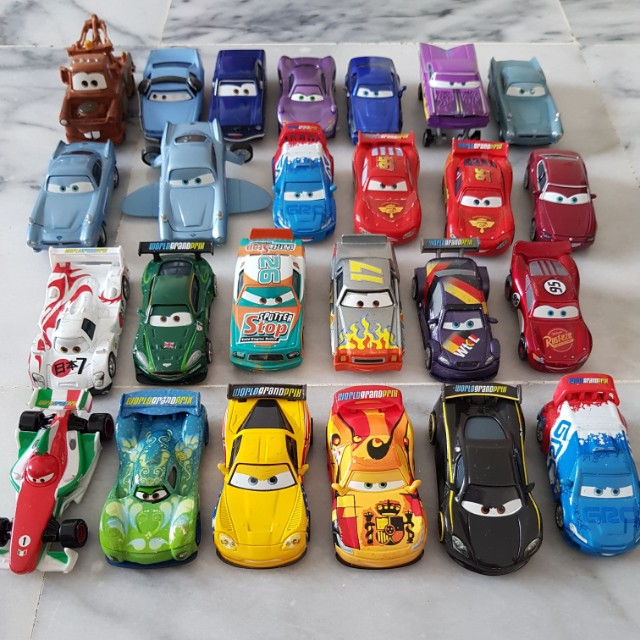 Cars Movie Diecast Toy Cars Toys Games Bricks Figurines On Carousell