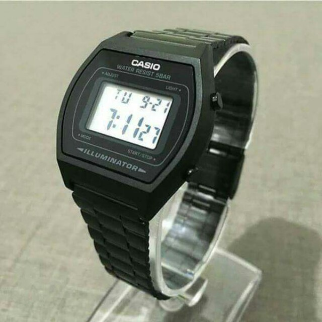 Casio B640 Black Metal Digital