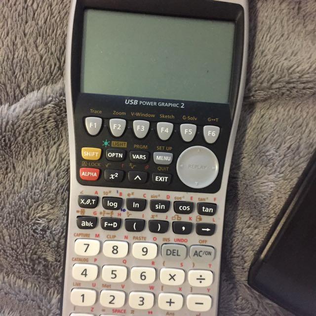 Casio Graphics Calculator