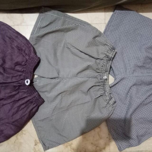 Celana Pantai Kolor Boxer Santai