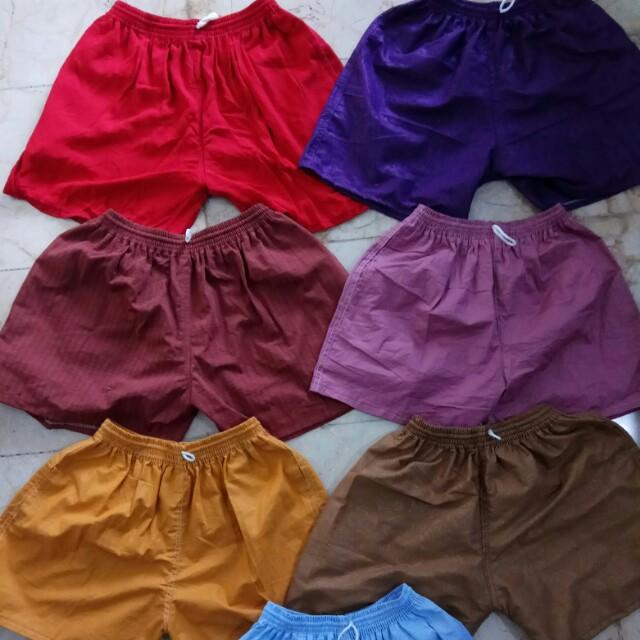 Celana Pantai Warna Warni