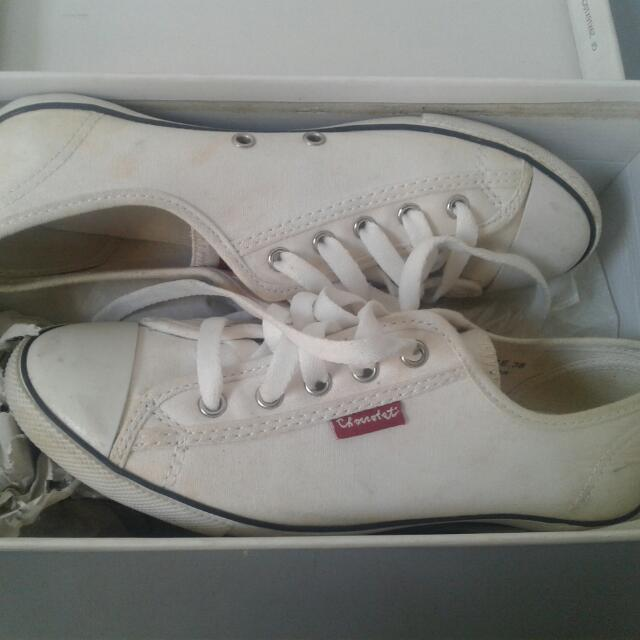 Chocolate White Shoes