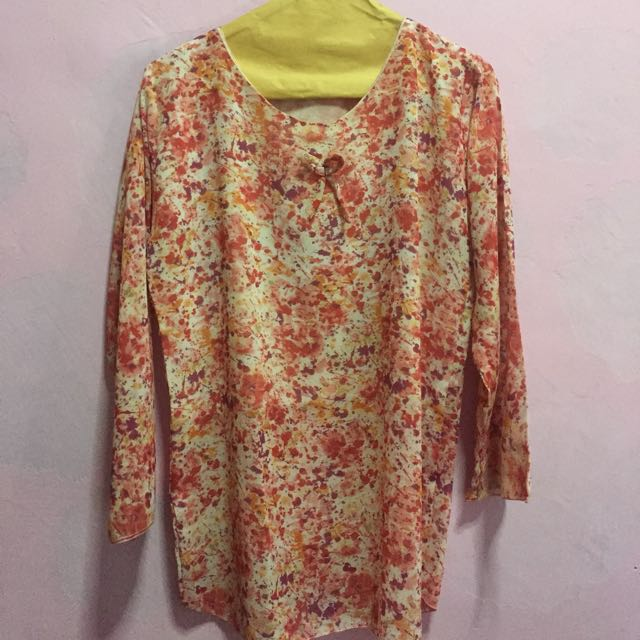 Color Splash Blouse