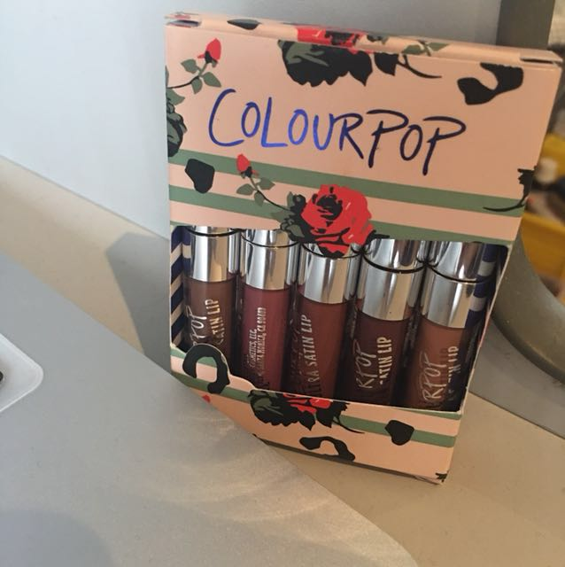 ColourPop mini ultra satin lip collection