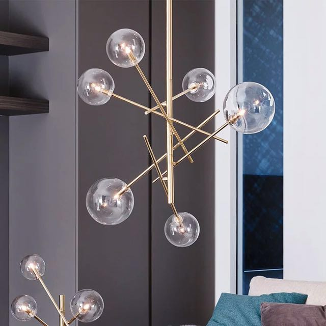 Copper bubble chandelier preorders on carousell aloadofball Images