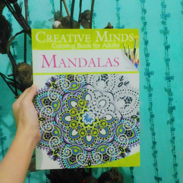 Creative Minds Coloring Book For Adults: MANDALAS