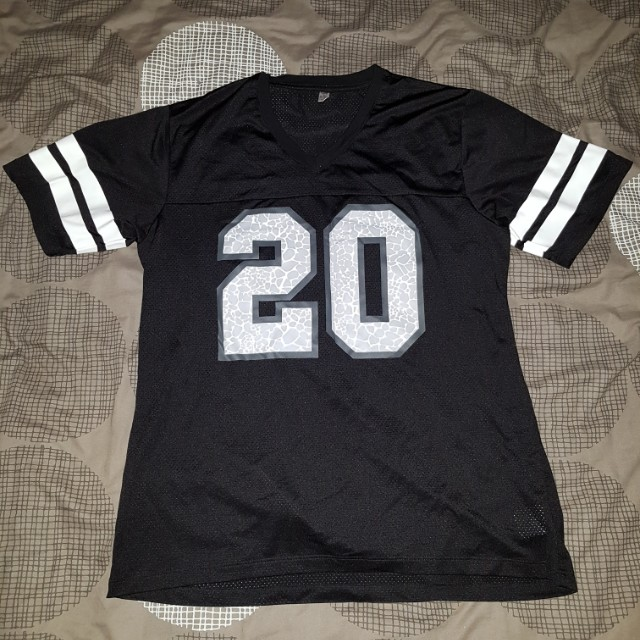 Crooks and castles mesh football jersey