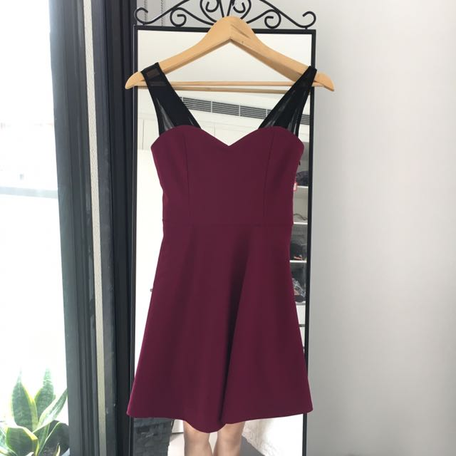Cute purple dress - Size S