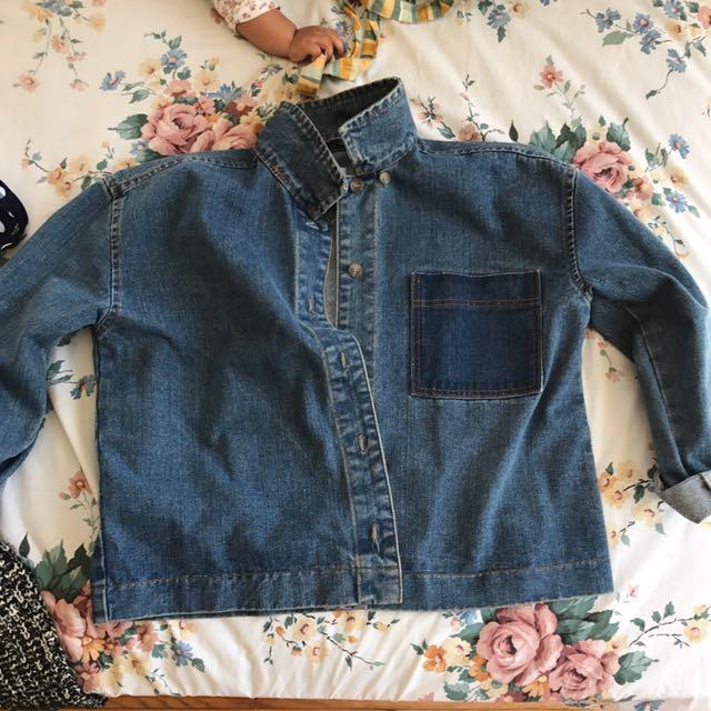 Denim jacket from boohoo