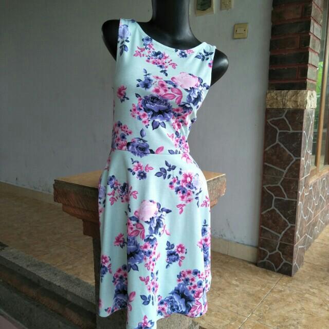 Dress Floral H&M