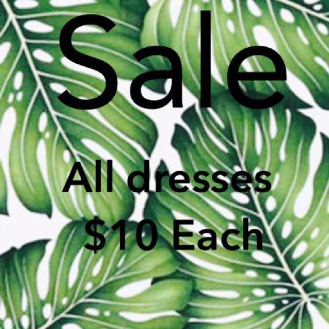 Dresses on sale (kookai, forever new etc)