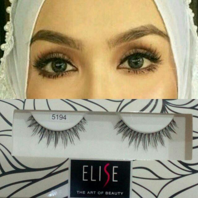 f2e9ae1ccde elise eyelash code 5194, Health & Beauty, Makeup on Carousell