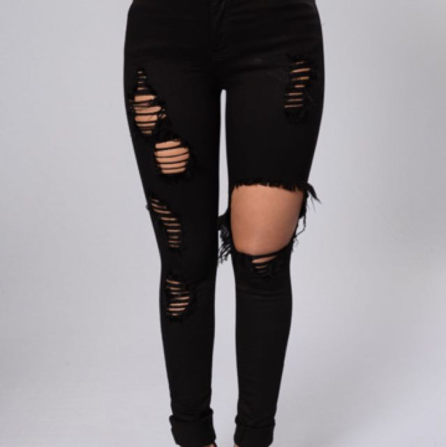 Fashionova Ripped Jeans