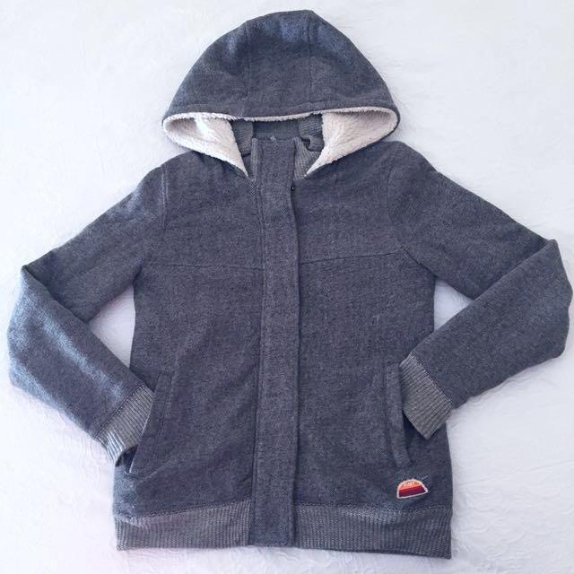 Fleece Hooded Roxy Jacket
