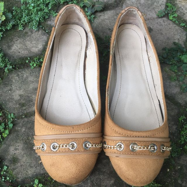 Fleurette Brown Wedges 37