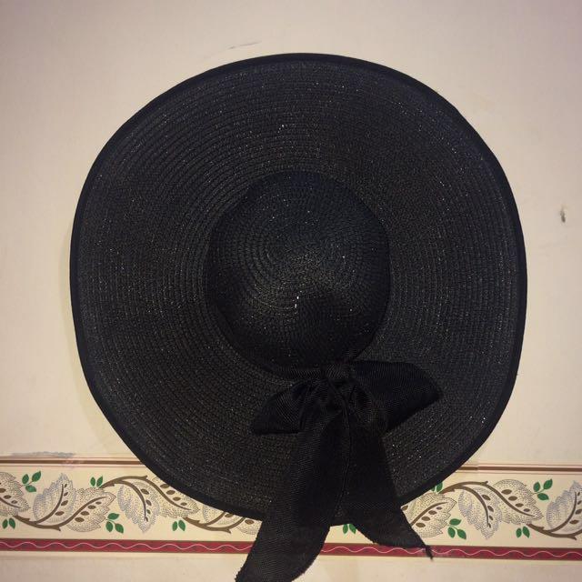 Floppy Bow Hat