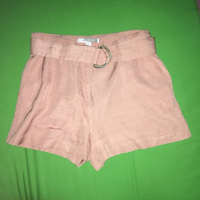 Forever21 Pink High Waisted Shorts