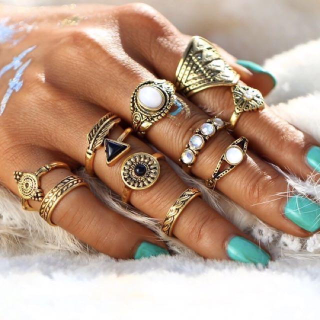 FREE SHIPPING rings / set ring