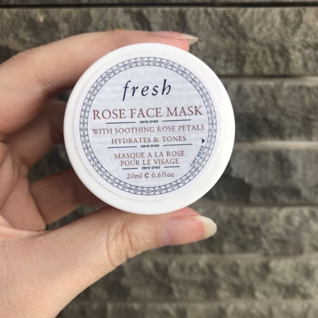 Fresh Rose Face Mask 20ml