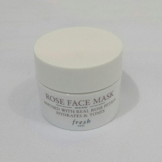 Fresh Rose Face Mask Deluxe