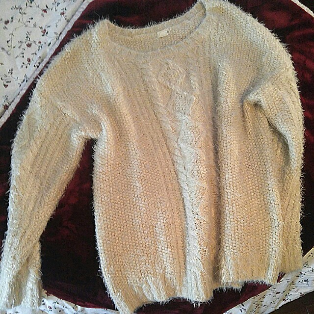 Fuzzy Knit Garage Sweater