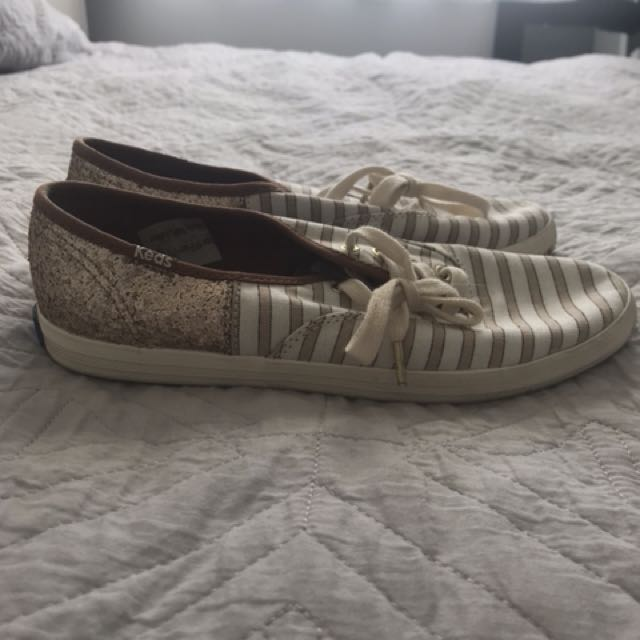 Glitter Keds sneakers - size 6