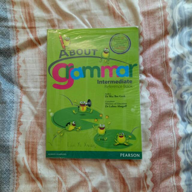 About Grammar Intermediate Reference Book