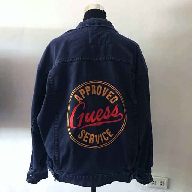 GUESS VINTAGE denim jacket