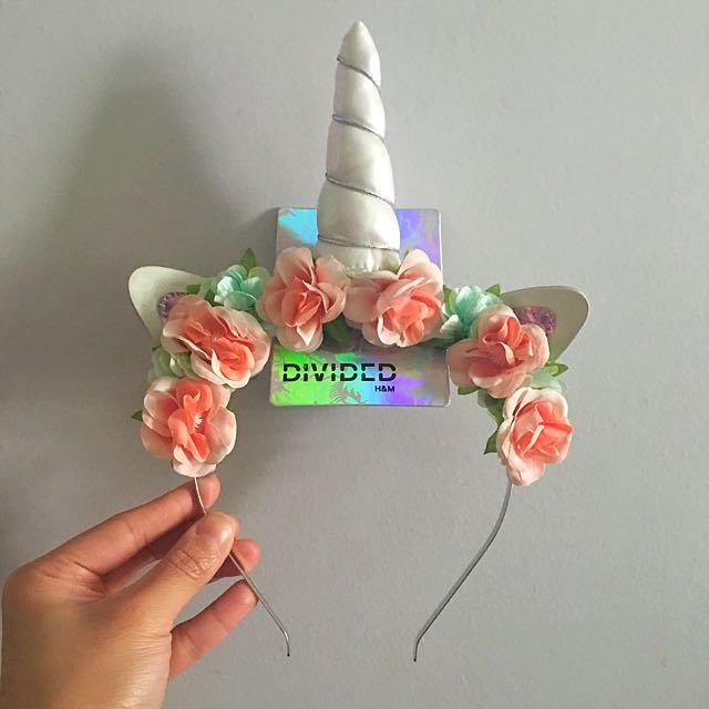 H and m unicorn headband 46de2733975