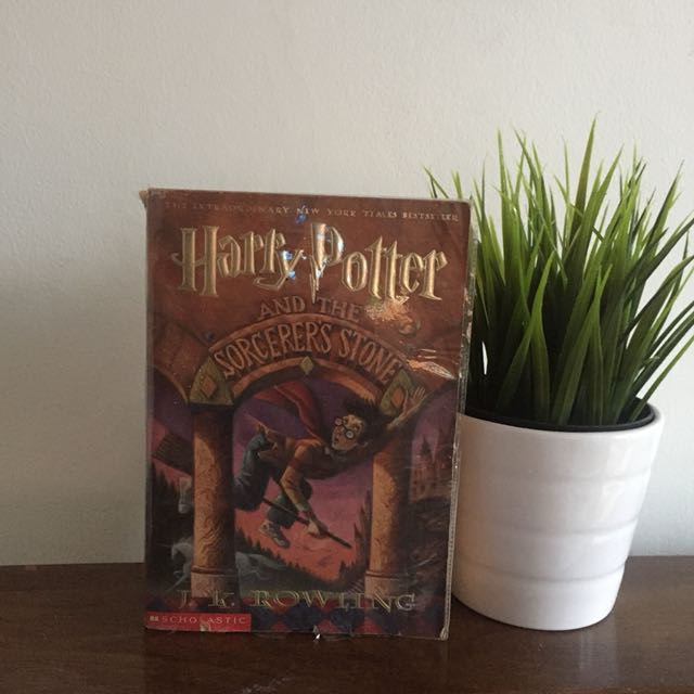 Harry potter first printed paperback