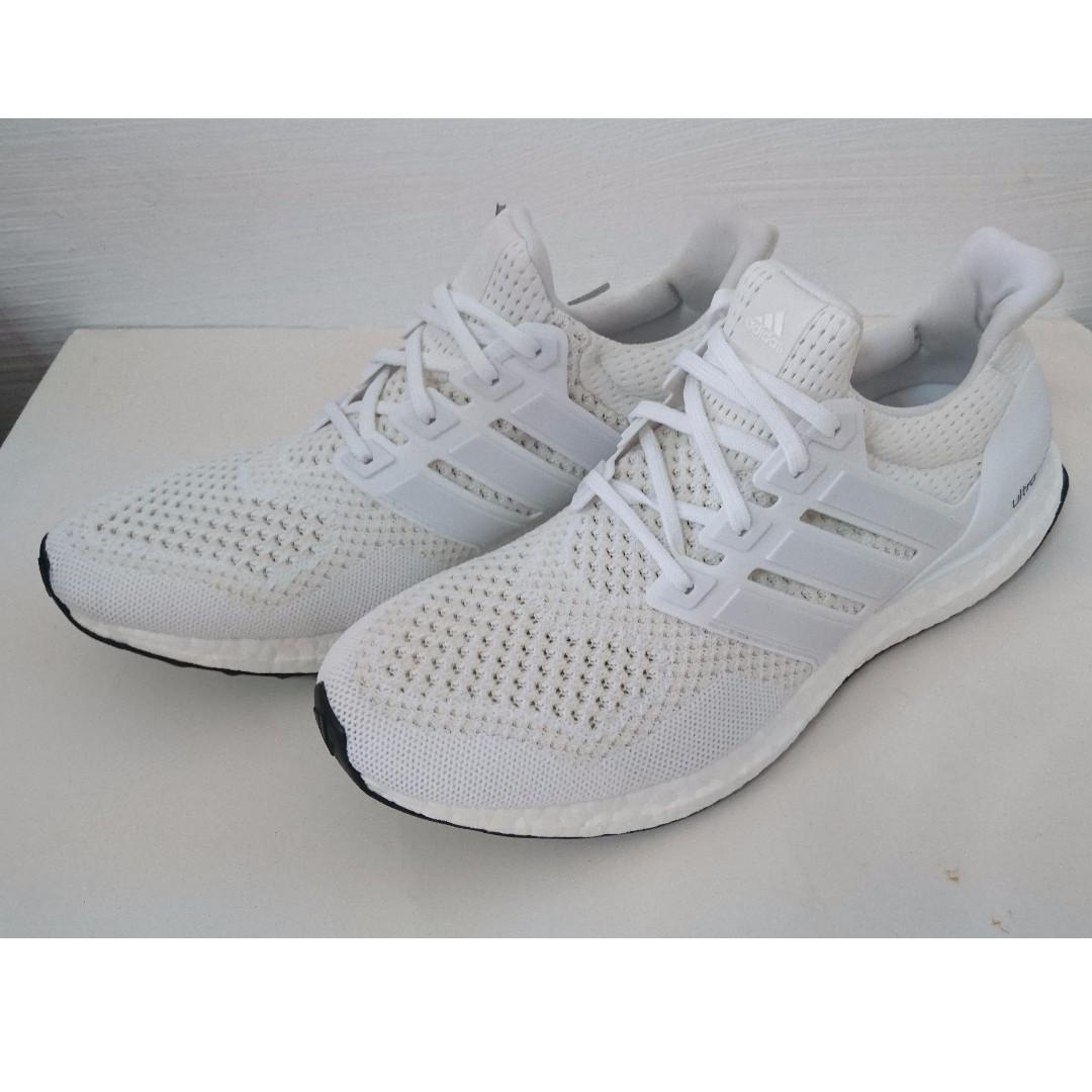 buy popular 36e58 97cc0 #Heat# Adidas Ultra Boost 1.0 Triple White