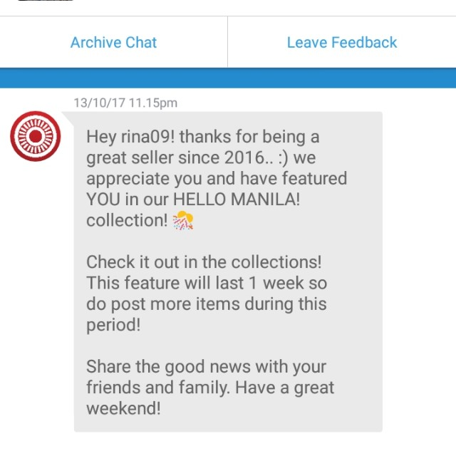 Hello manila collection